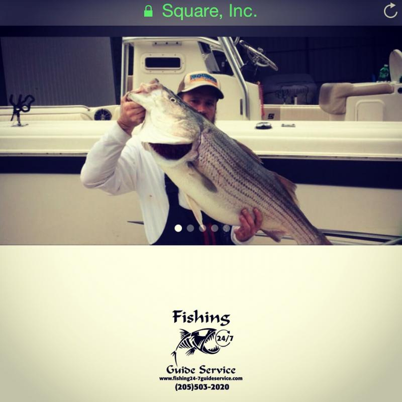Fishing 24-7 Guide Service - Square Online Store Link