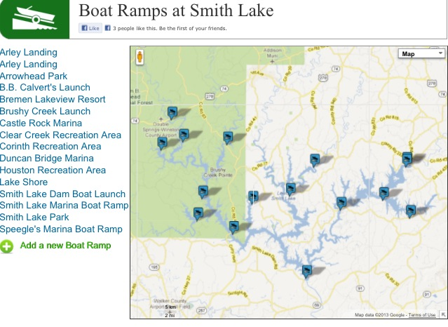 SMITH LAKE BOAT RAMPS