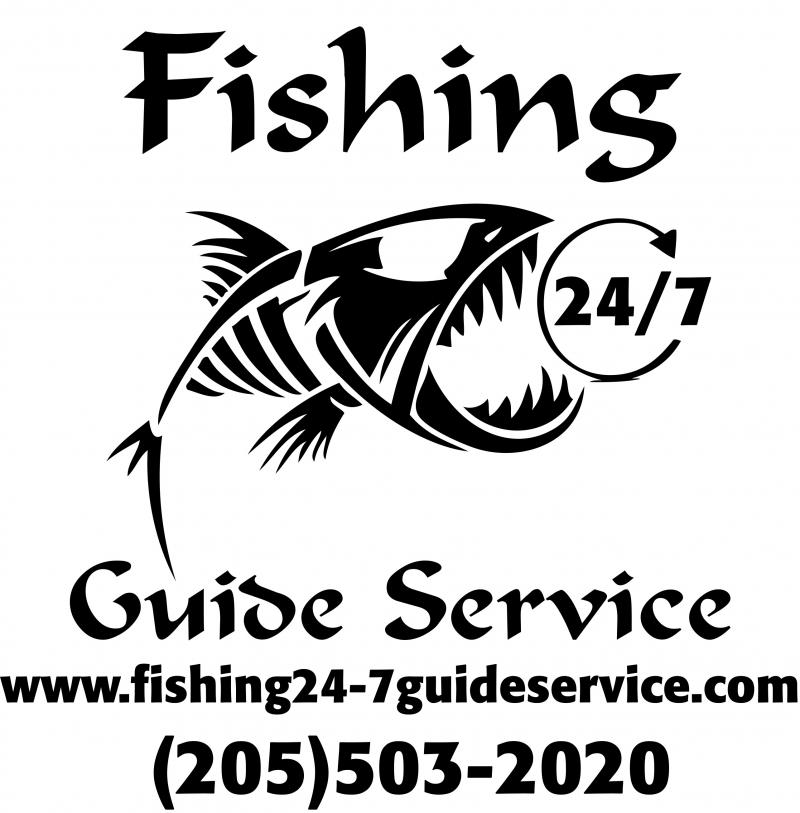 Fishing 24-7 Guide Service - Contact Us Link