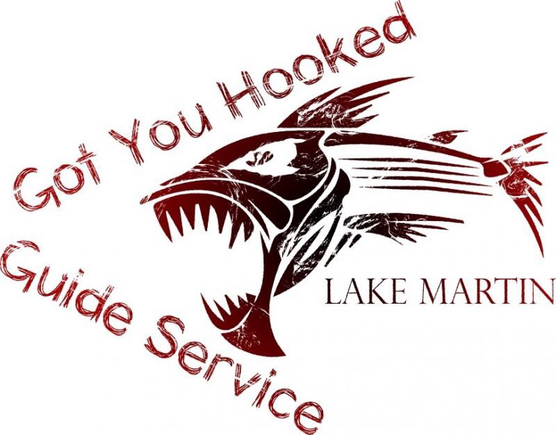 Got You Hooked Striped Bass Guide Service - Lake Martin, Alabama