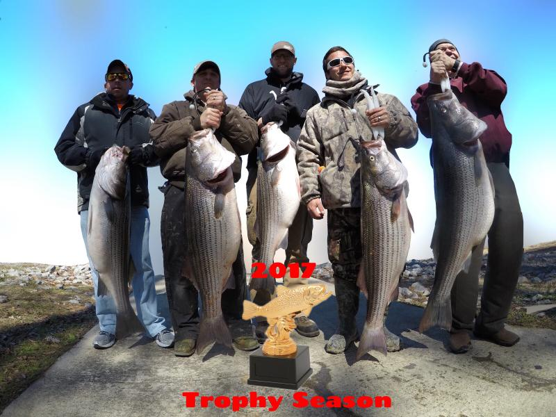 2017 Trophy Striped Bass Trip